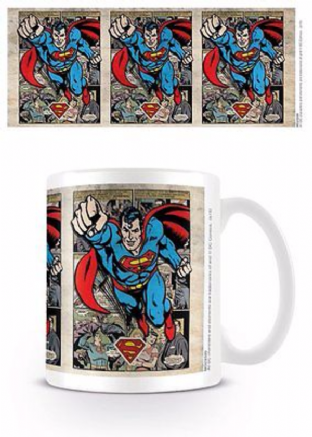 Dc Comics Originals - Superman (Montage) - MUG (11oz) (Brand New In Box)